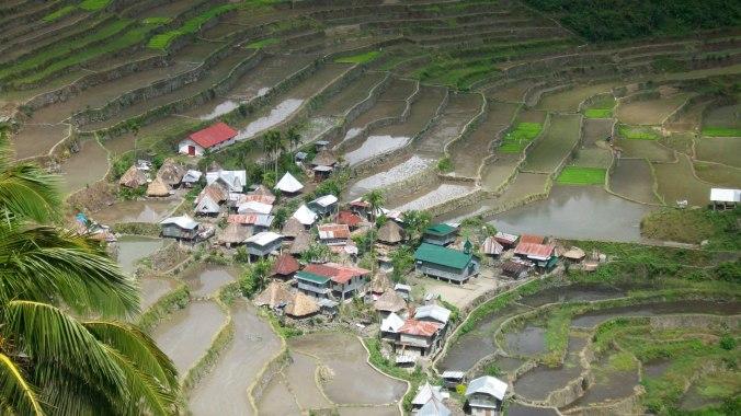 View of Batad village