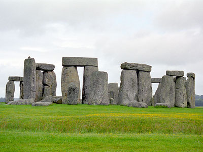 Stonehenge - not on our itinerary but very much part of the ancient history we were to explore