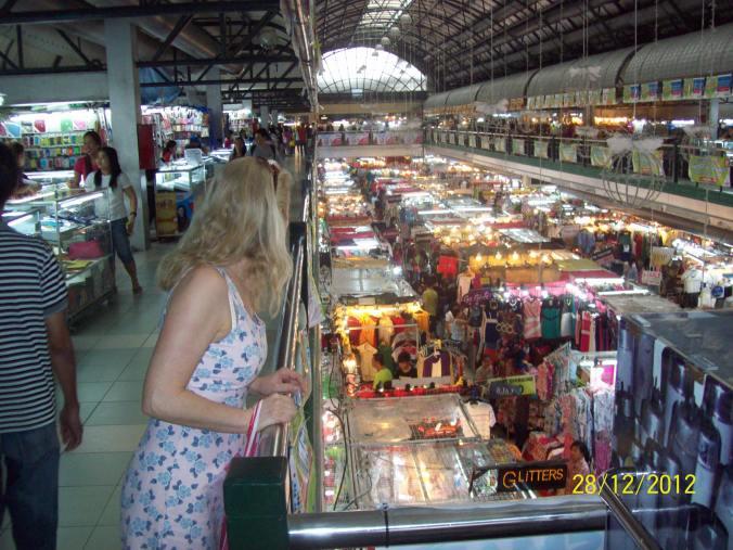 Greenhills market stalls