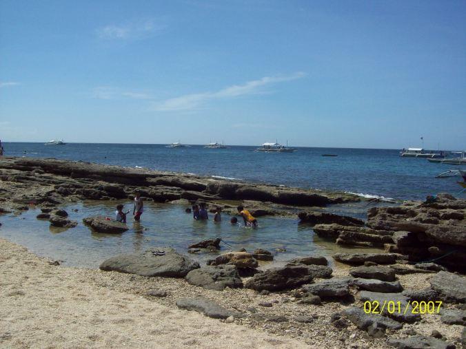 Snorkeling in Apo Island