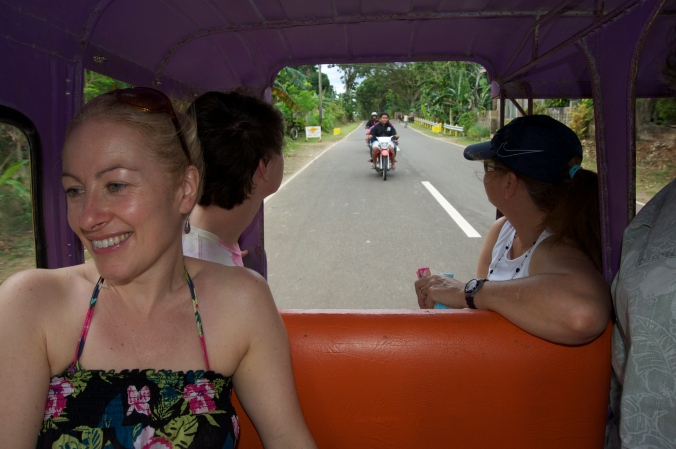 Filipino Tricycle Ride