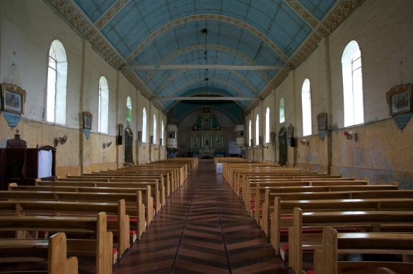 Inside St. Isidore Labradore