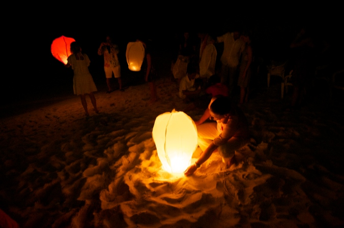Wish Lanterns on Siquijor