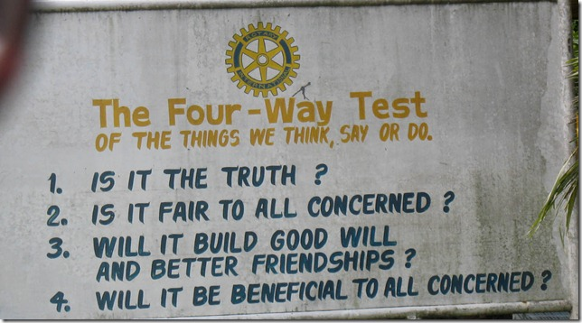 rotary filipino four way test