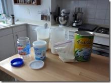 Yoghurt making equipment