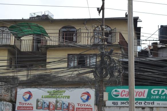 Kathmandu electric cables
