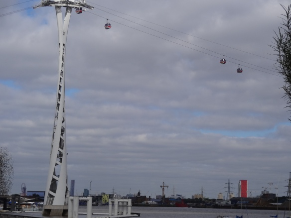 The Emirates Airline Cable Car