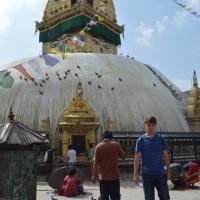 Swayambhuneth:  Monkey Temple