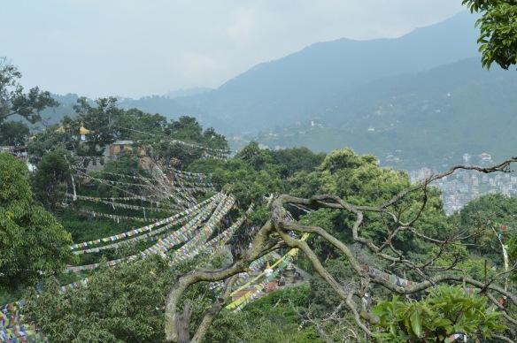 Views from Swayambuneth Temple