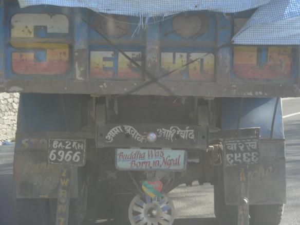 nepalese truck