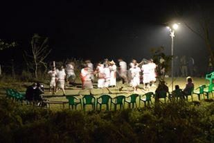 tharu stick dancing