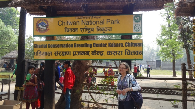 chitwan national park, gharial breeding center