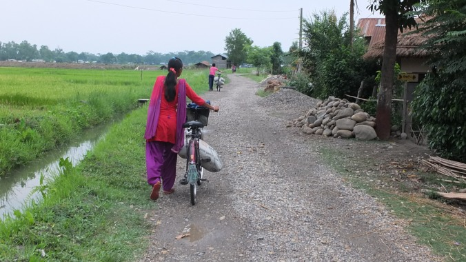 A Walk in the Chitwan Countryside