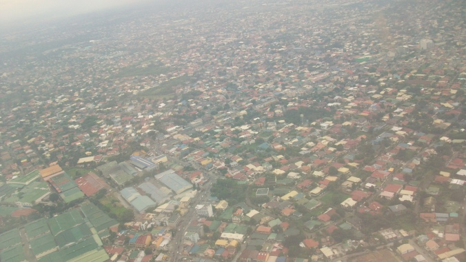 Aerial view of Manila