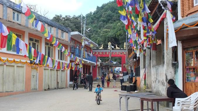 Entrance to Namobuddha stupa