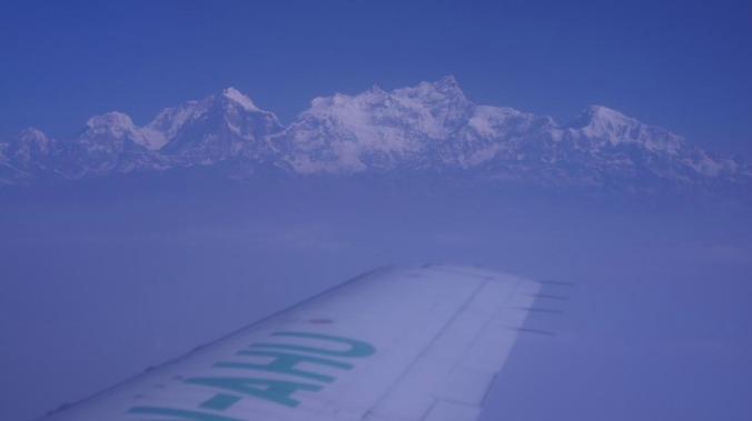 View of Annapurnas