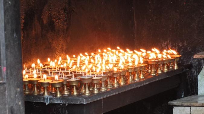 Namobuddha Butter Lamps