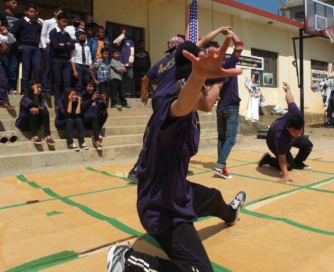 nepali breakdancers