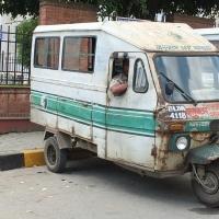 Five Days/Five Photos: Day 3 Kathmandu Microbus