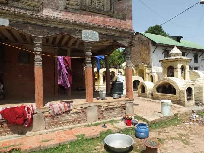 Bagmati river temples